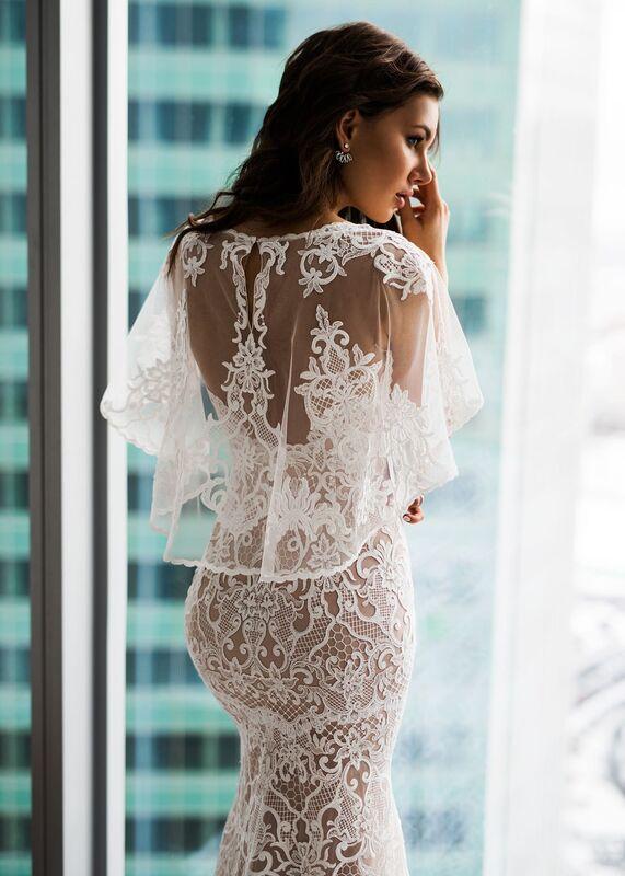 Свадебное платье напрокат Natalia Romanova Свадебное платье  Diar - фото 4