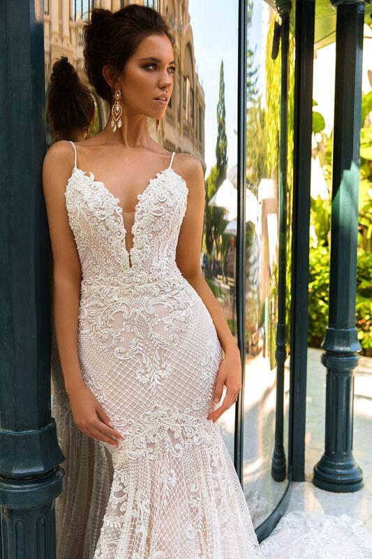 Свадебное платье напрокат Crystal Свадебное платье Fler - фото 3