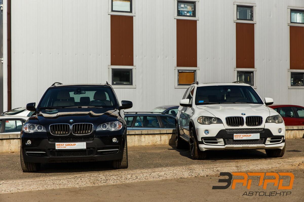 Прокат авто BMW X5 (E70 кузов) 2009 белый - фото 4