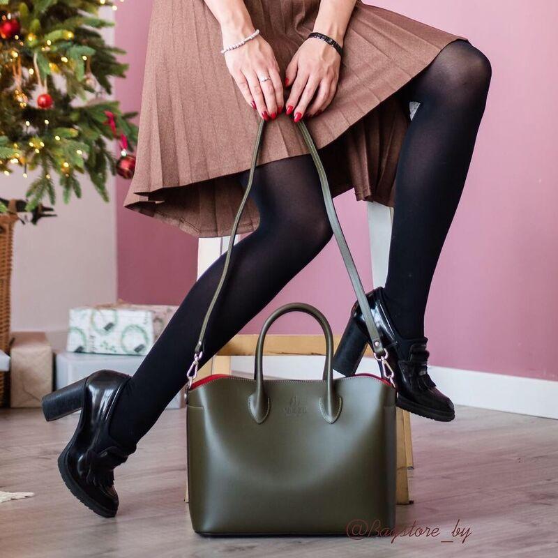 Магазин сумок Vezze Кожаная женская сумка C00439 - фото 1