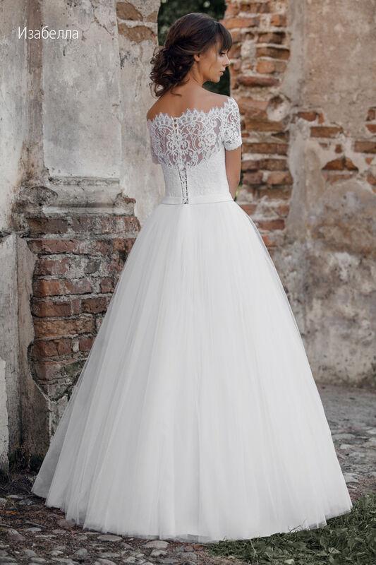 Свадебное платье напрокат Vintage Платье свадебное «Изабелла» - фото 2