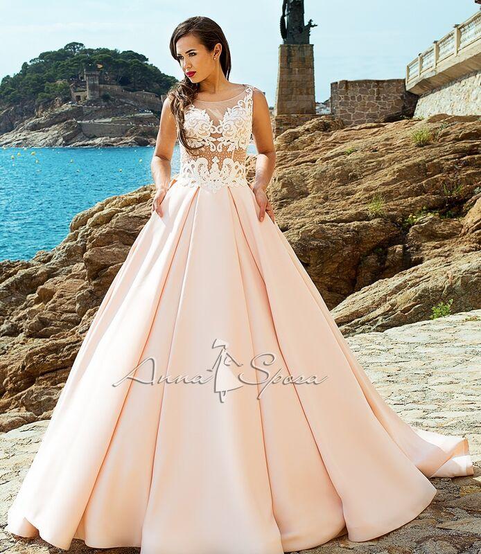 Свадебное платье напрокат Anna Sposa Платье свадебное «Alessandra» из коллекции SEA DIAMOND 2017 - фото 1