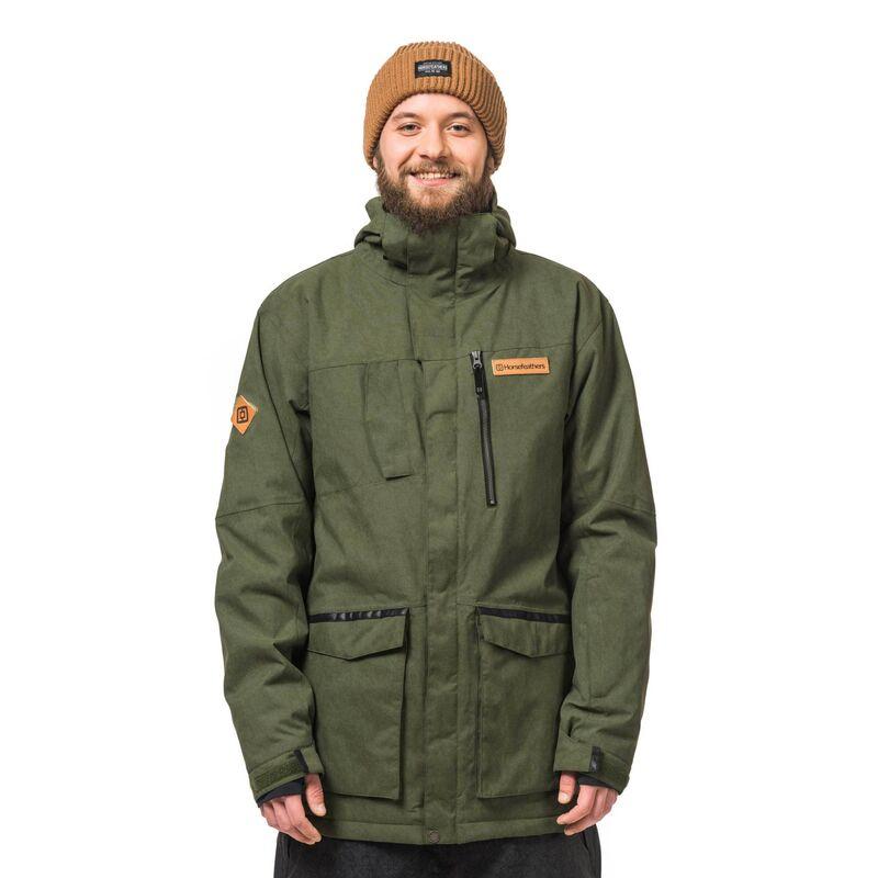 Спортивная одежда Horsefeathers Сноубордическая куртка Dawson 1617 оливковый - фото 1