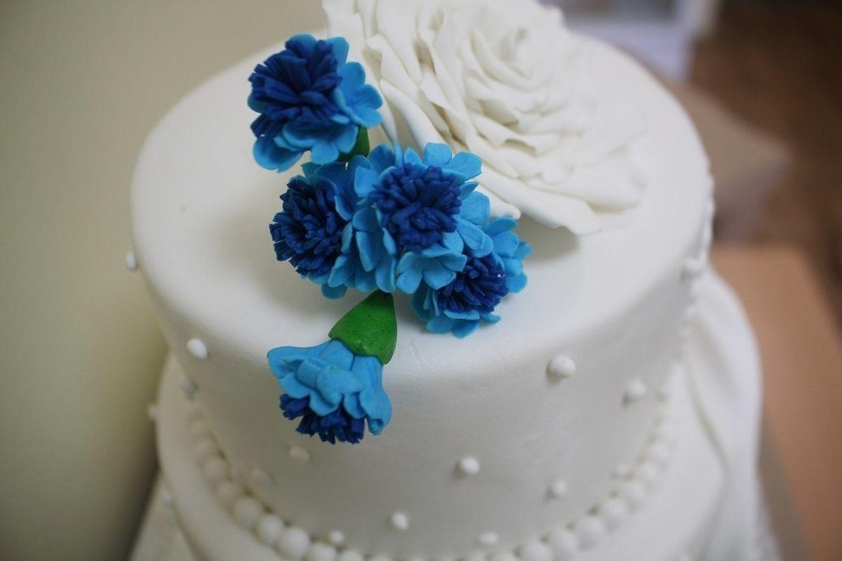 Торт Заказторта.бай Свадебный торт №5 - фото 1