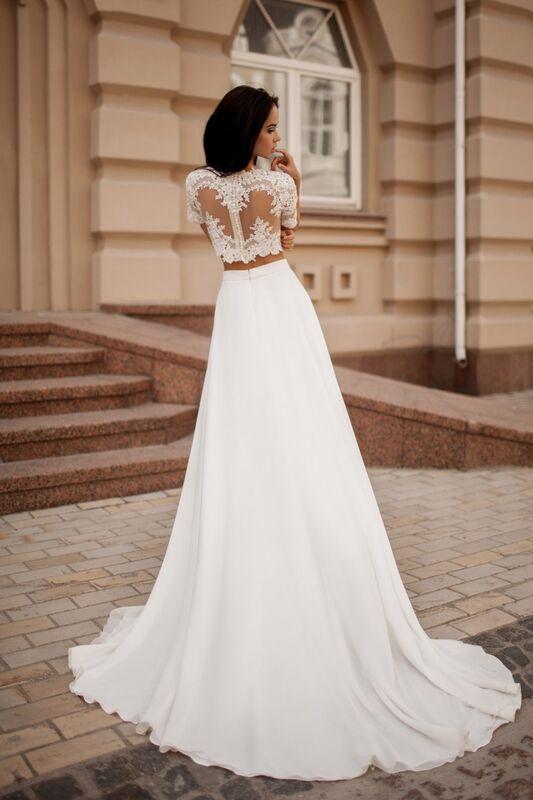 Свадебный салон Crystal Платье свадебное Karina - фото 4