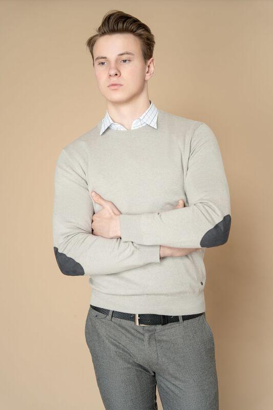 Кофта, рубашка, футболка мужская Etelier Джемпер мужской  tony montana T2002 - фото 6