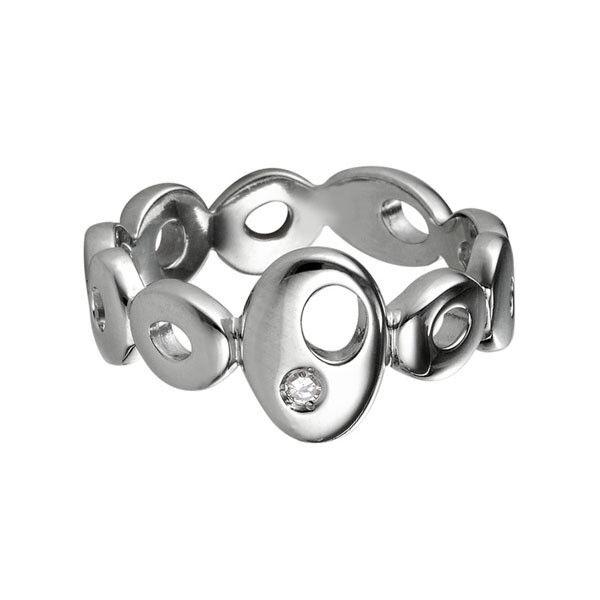 Ювелирный салон Hot Diamonds Кольцо серебряное DR080 - фото 1