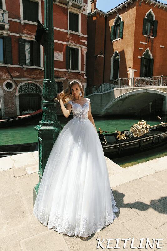 Свадебный салон Bonjour Galerie Свадебное платье Keitline из коллекции La Douceur - фото 1