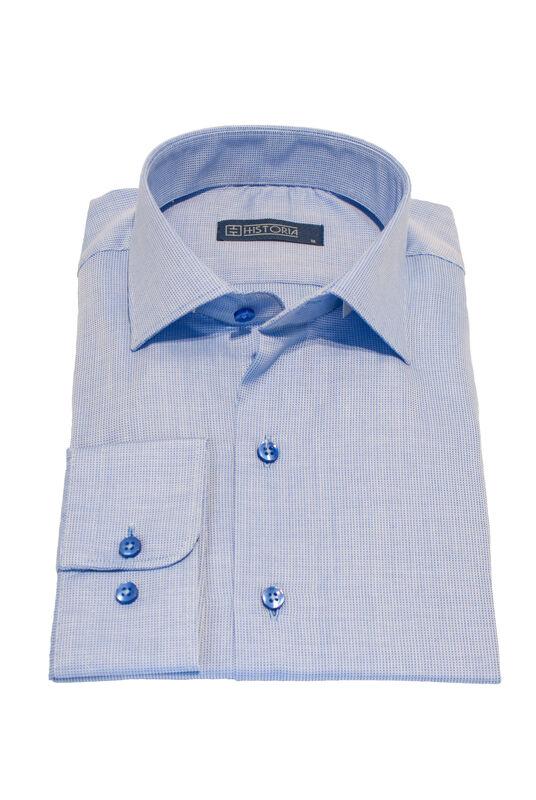 Кофта, рубашка, футболка мужская HISTORIA Рубашка мужская, Slim fit - фото 1