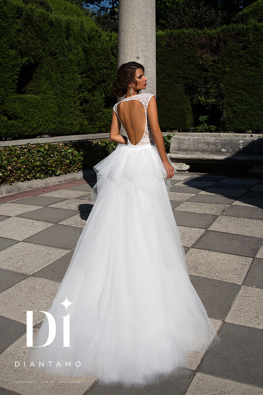 Свадебное платье напрокат Diantamo Платье свадебное Federica - фото 3