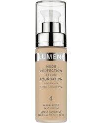Декоративная косметика LUMENE Тональный флюид Nude Perfection Fluid Foundation, тон 4 - фото 1