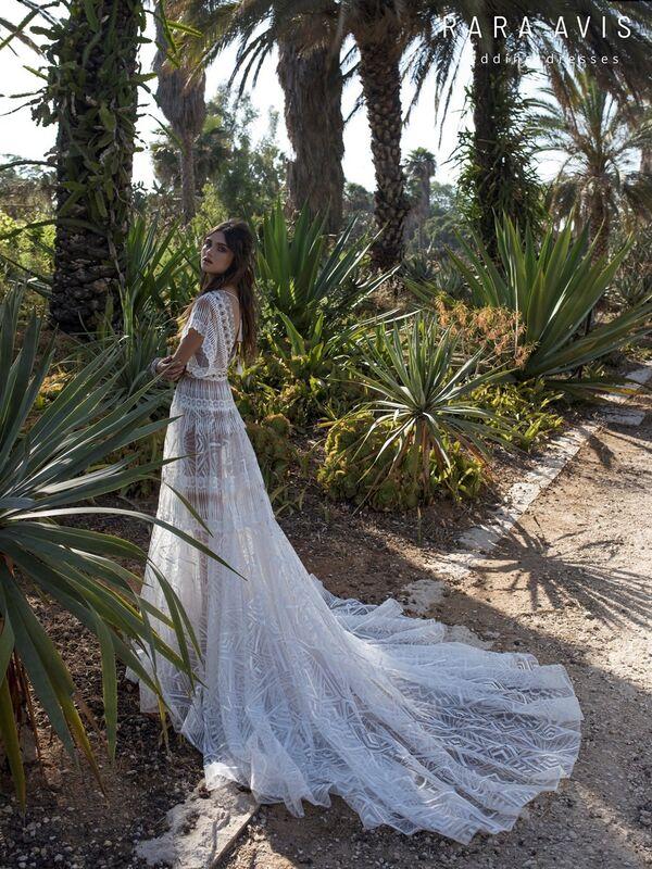 Свадебный салон Rara Avis Платье свадебное Wild Soul Jasel - фото 5