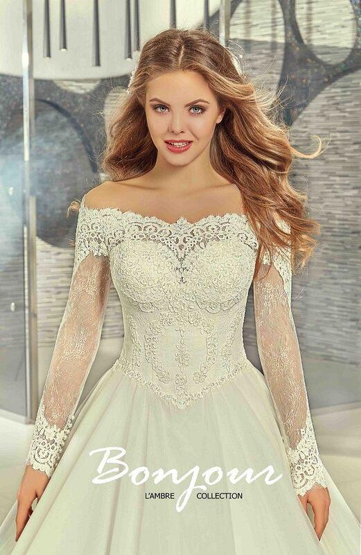 Свадебный салон Bonjour Galerie Свадебное платье «Carli» из коллекции LAMBRE - фото 3
