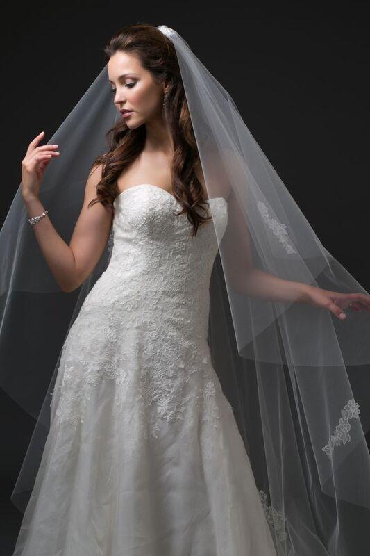 Свадебный аксессуар Bliss Свадебная фата Lola - фото 1