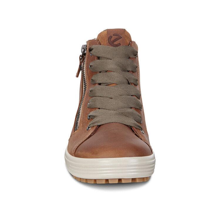 Обувь женская ECCO Кеды высокие SOFT 7 TRED 450163/02291 - фото 4