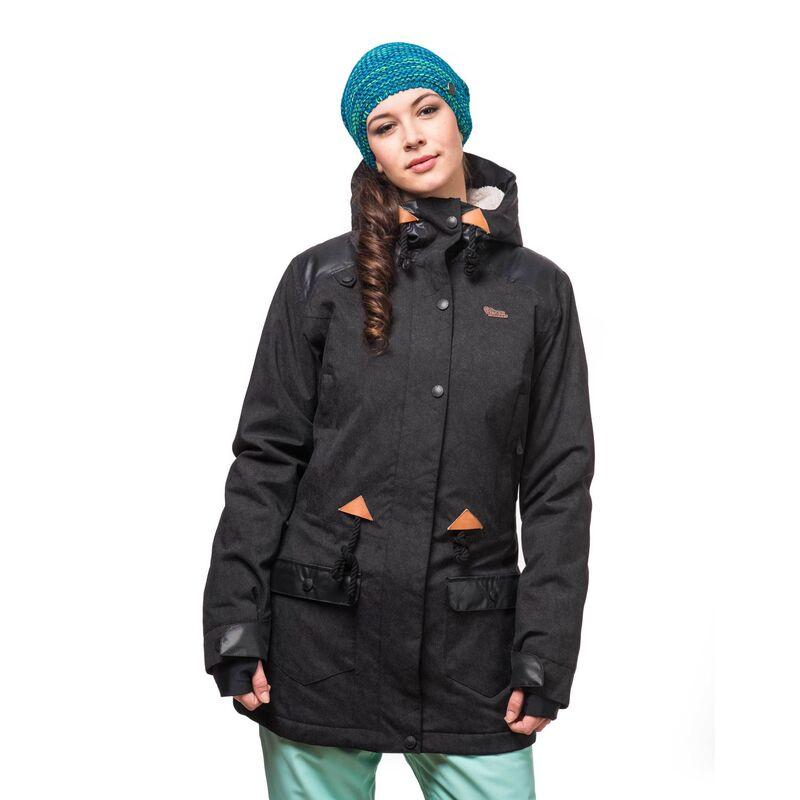 Спортивная одежда Horsefeathers Сноубордическая куртка Faith 1617 черный - фото 1