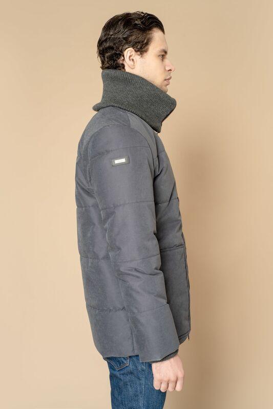 Верхняя одежда мужская Etelier Куртка мужская плащевая утепленная 4М-8523-1 - фото 9