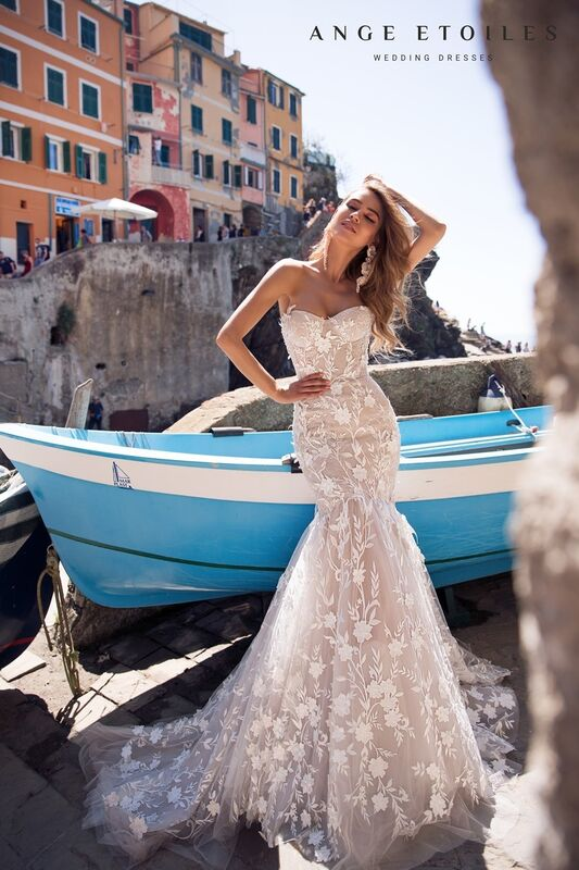 Свадебное платье напрокат Ange Etoiles Свадебное платье Ali Damore Bonita - фото 3