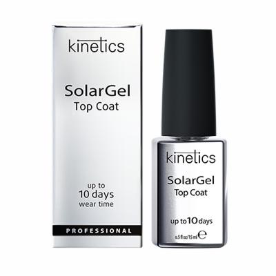 Декоративная косметика Kinetics Верхнее лаковое покрытие «SolarGel Top Coat» - фото 1