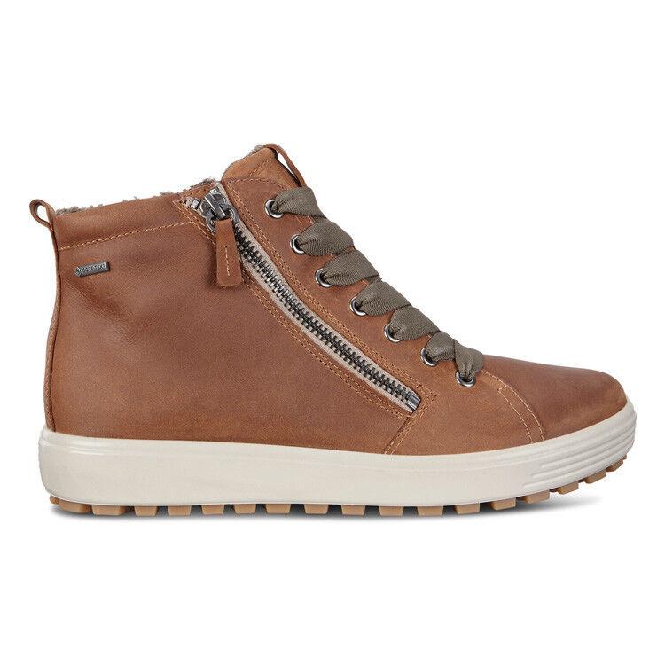 Обувь женская ECCO Кеды высокие SOFT 7 TRED 450163/02291 - фото 3