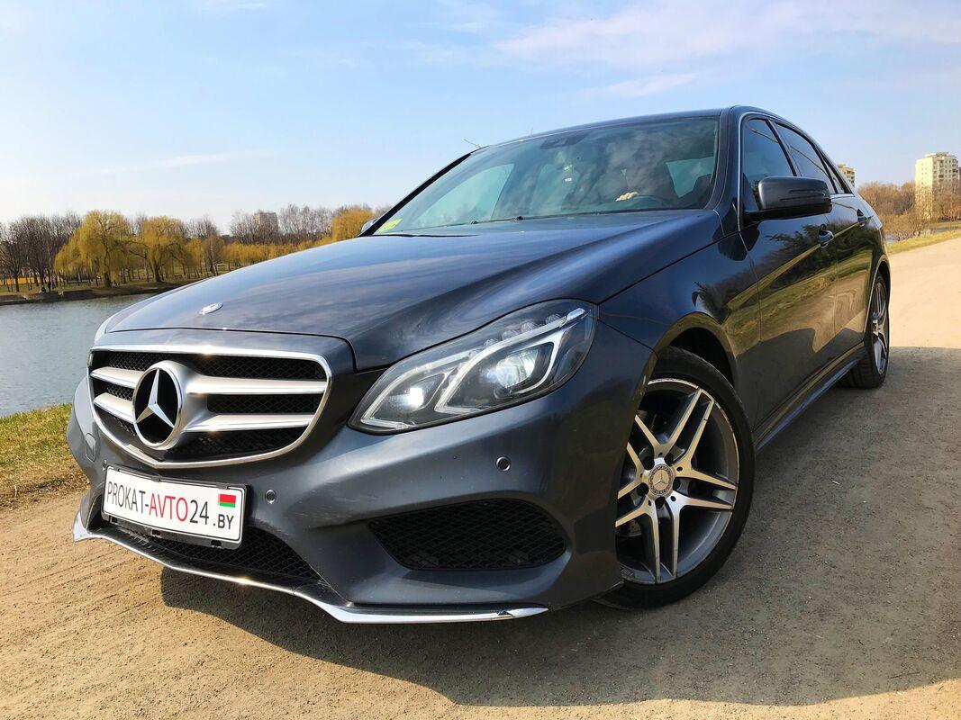 Прокат авто Mercedes-Benz E250D 4matic 2015 - фото 1