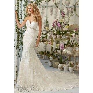 Свадебное платье напрокат Mori Lee Платье свадебное 2825 - фото 1