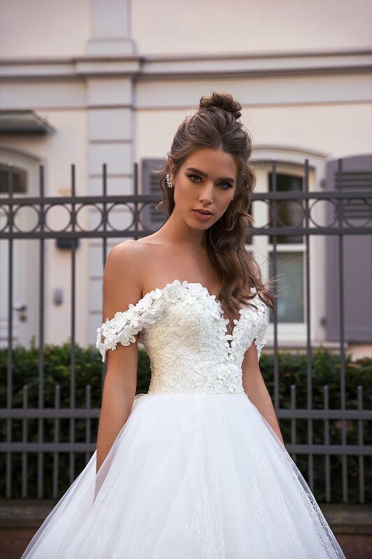 Свадебное платье напрокат Vanilla room Платье свадебное Виктория - фото 1