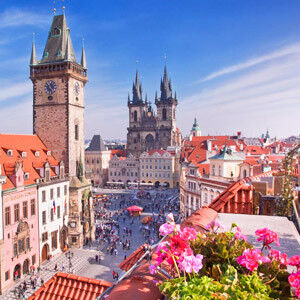 Туристическое агентство Артинтур Автобусный экскурсионный тур F7 «Первое знакомство: Париж + Прага эконом» - фото 1
