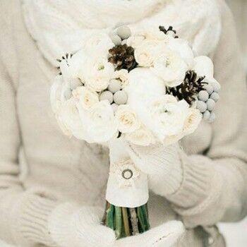 Магазин цветов Ветка сакуры Свадебный букет № 57 - фото 1