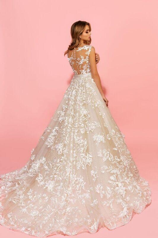 Свадебный салон Eva Lendel Свадебное платье Sandy - фото 4