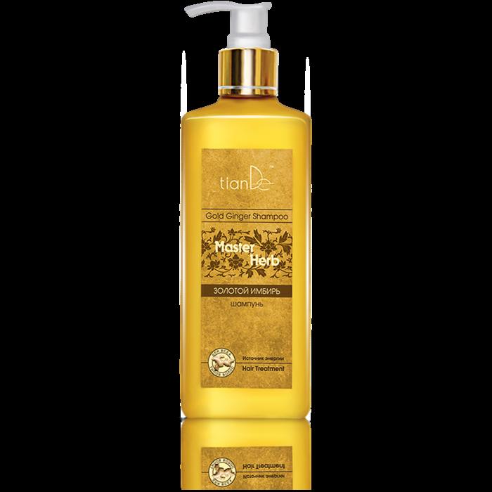 Уход за волосами tianDe Шампунь «Золотой имбирь» Master Herb - фото 1