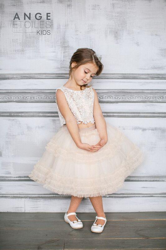 Вечернее платье Ange Etoiles Детское платье Kids Sofin - фото 1