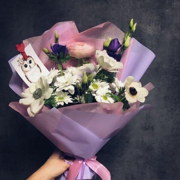 Магазин цветов Кошык кветак Букет классический №5 - фото 1