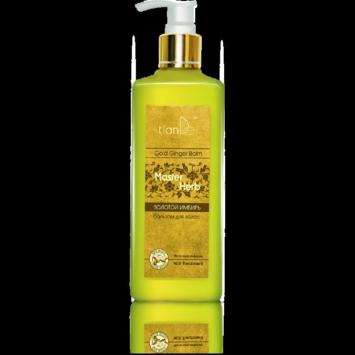 Уход за волосами tianDe Бальзам для волос «Золотой имбирь» Master Herb - фото 1