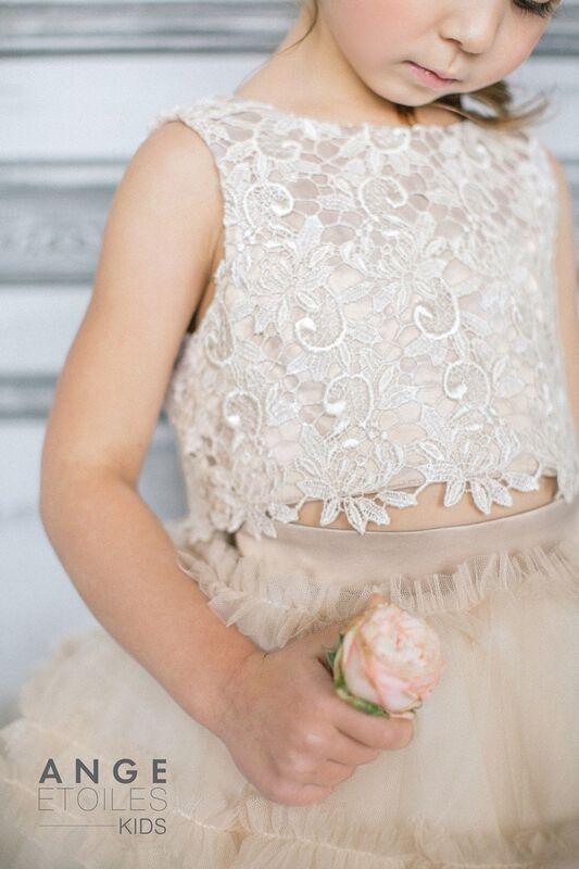 Вечернее платье Ange Etoiles Детское платье Kids Sofin - фото 5