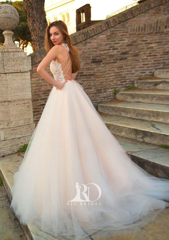 Свадебный салон Rafineza Свадебное платье Ingrit - фото 6