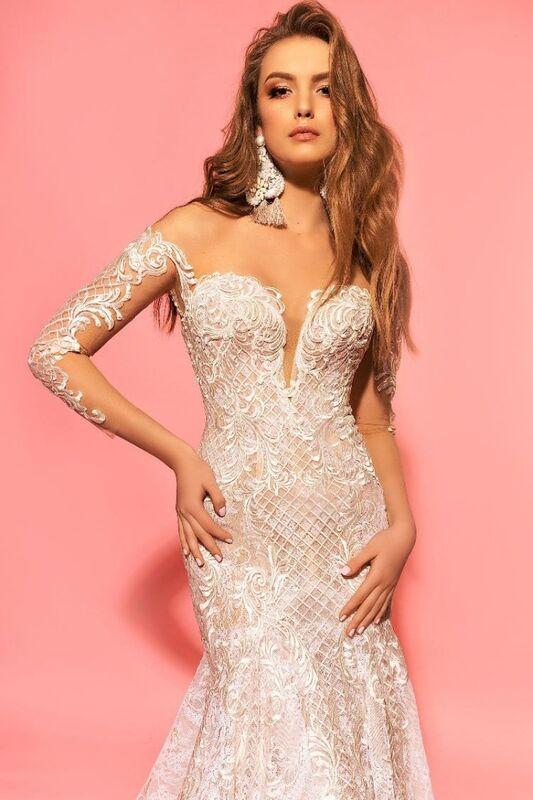 Свадебное платье напрокат Eva Lendel Платье свадебное Kim - фото 2