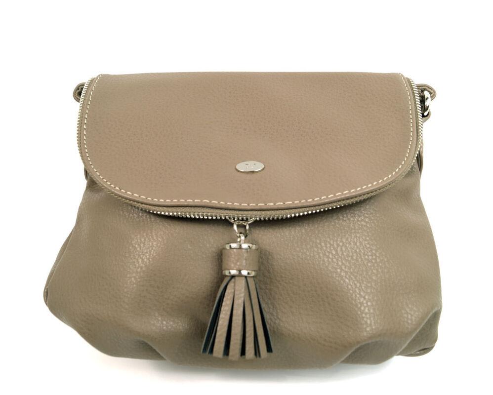 Магазин сумок David Jones Сумка женская бежевая 5540А-1 - фото 1