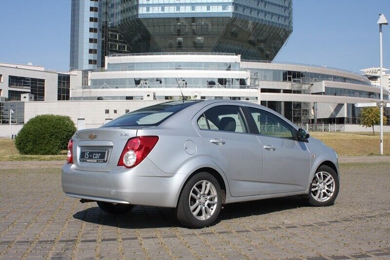Аренда авто Chevrolet Aveo II 2013 г.в. - фото 2