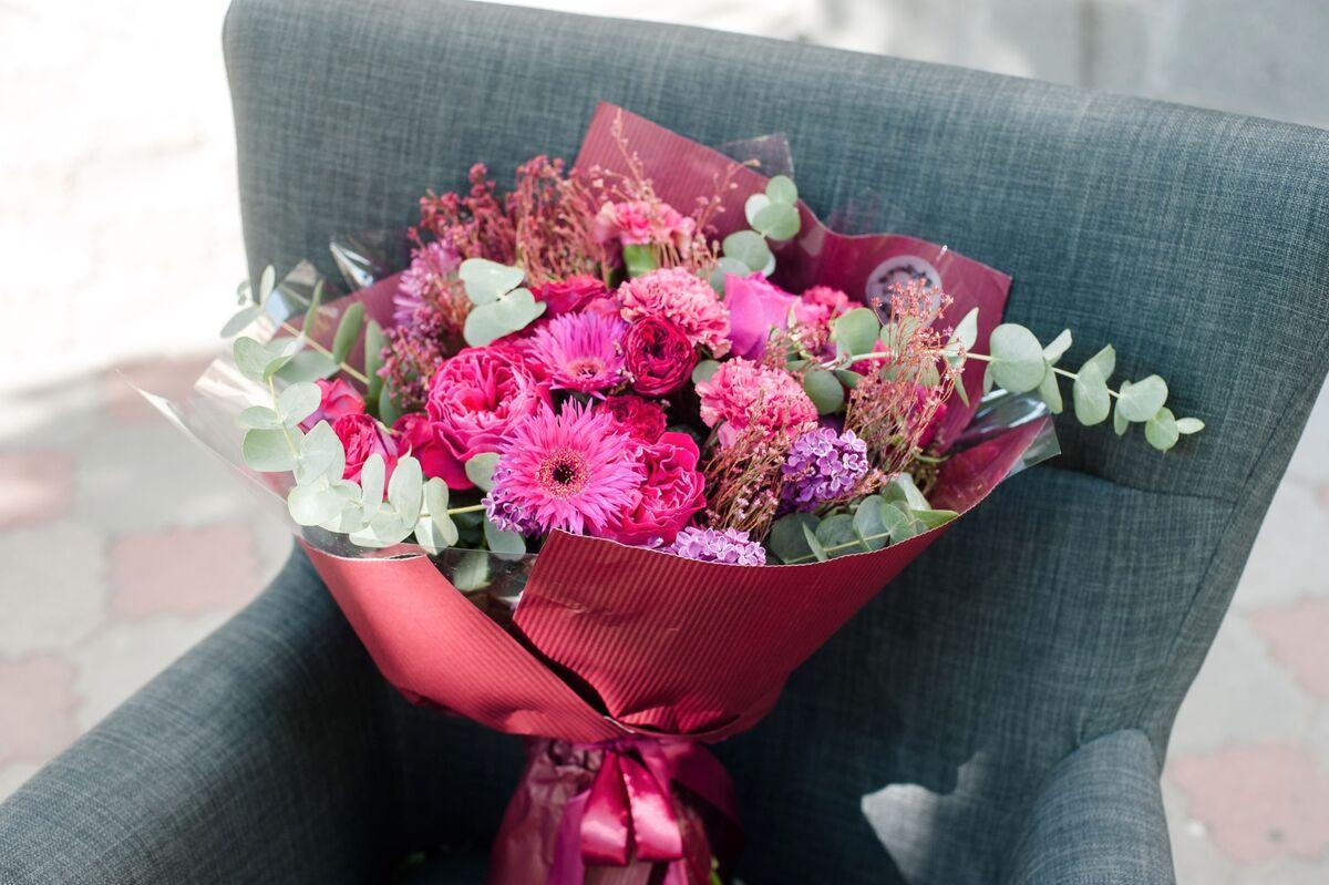 Магазин цветов Цветы на Киселева Букет «Ягодный восторг» - фото 1