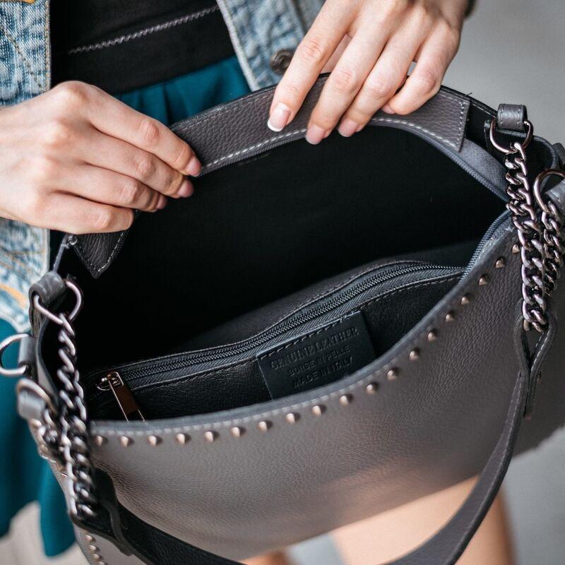 Магазин сумок Vezze Кожаная женская сумка C00537 - фото 2