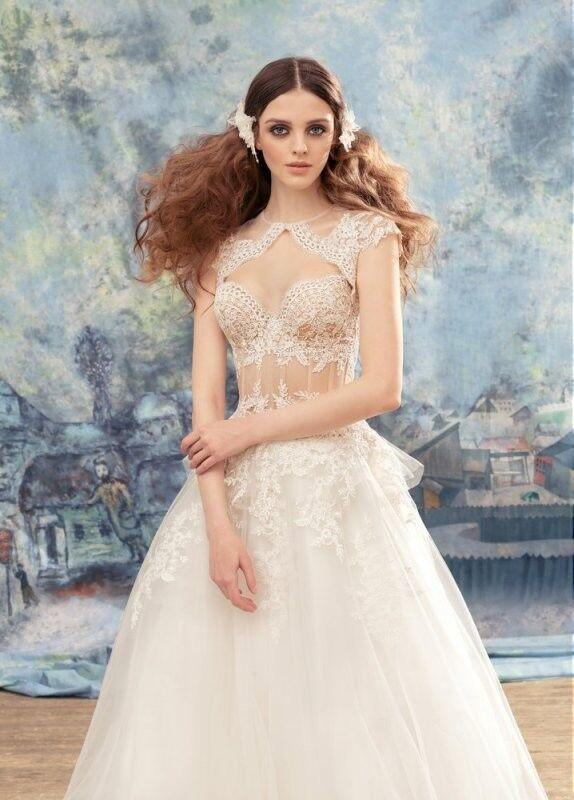 Свадебный салон Papilio Свадебное платье «Мизомела» 1737L - фото 3
