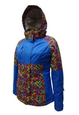 Спортивная одежда Free Flight Женская горнолыжная мембранная куртка, модель №1328 - фото 1