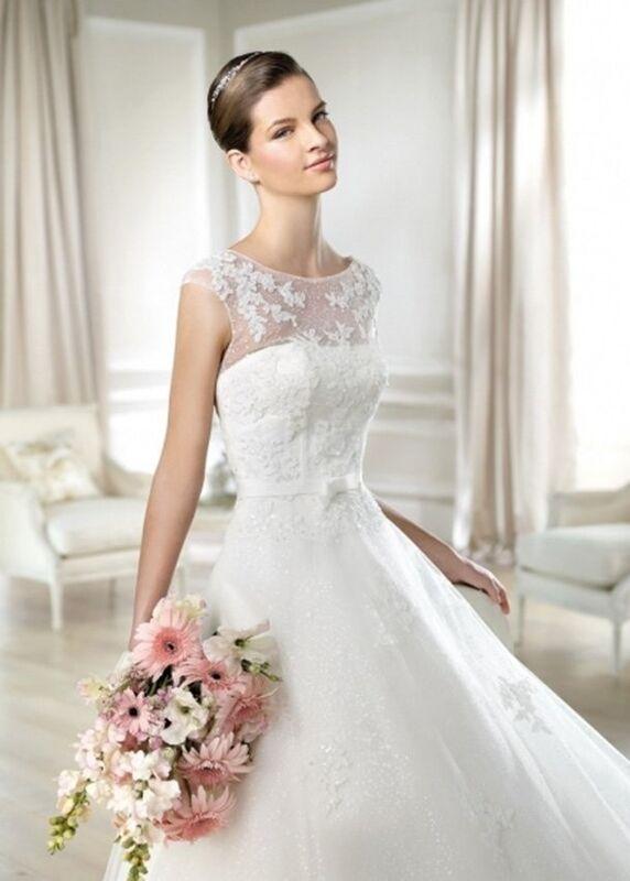 Свадебное платье напрокат White One (Pronovias) Платье свадебное «Jailyn» - фото 3