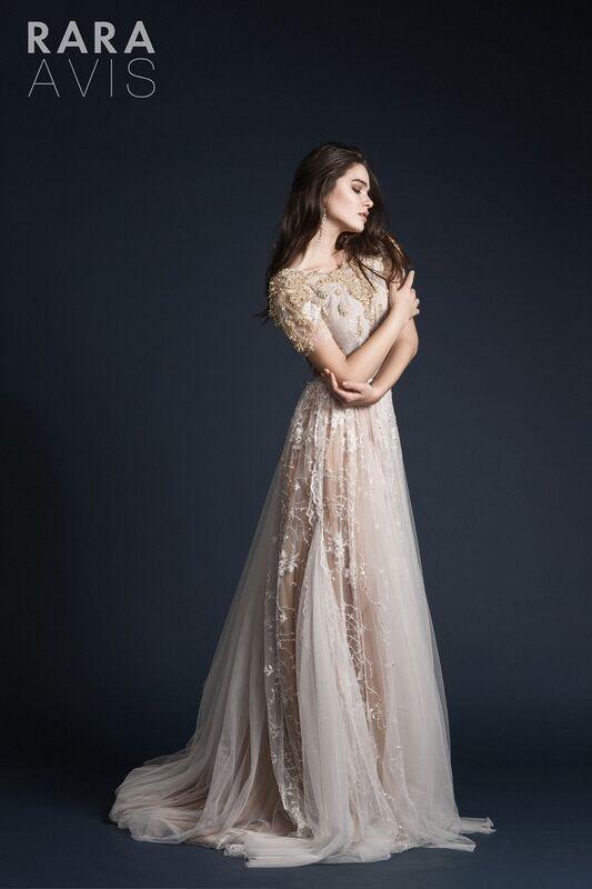 Свадебное платье напрокат Rara Avis Свадебное платье Ester - фото 1