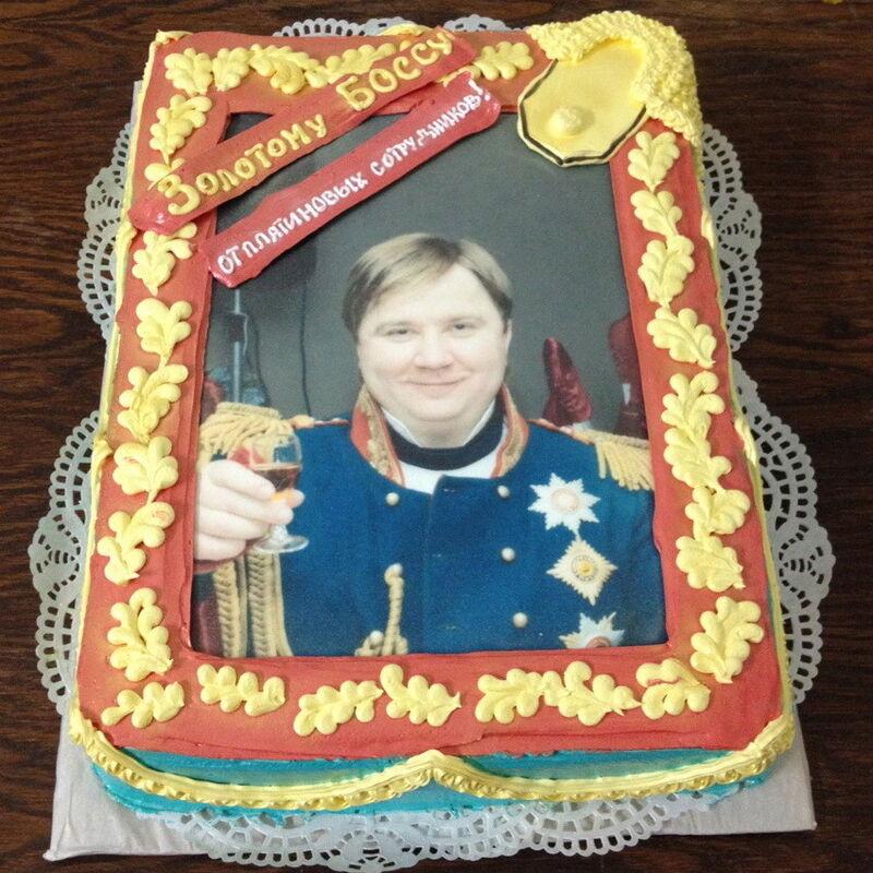 Торт МЕГАТОРТ Торт «Золотому боссу» - фото 1