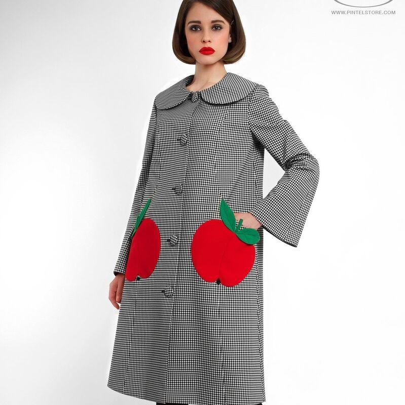 Верхняя одежда женская Pintel™ Однобортное пальто А-силуэта Jussiida - фото 1