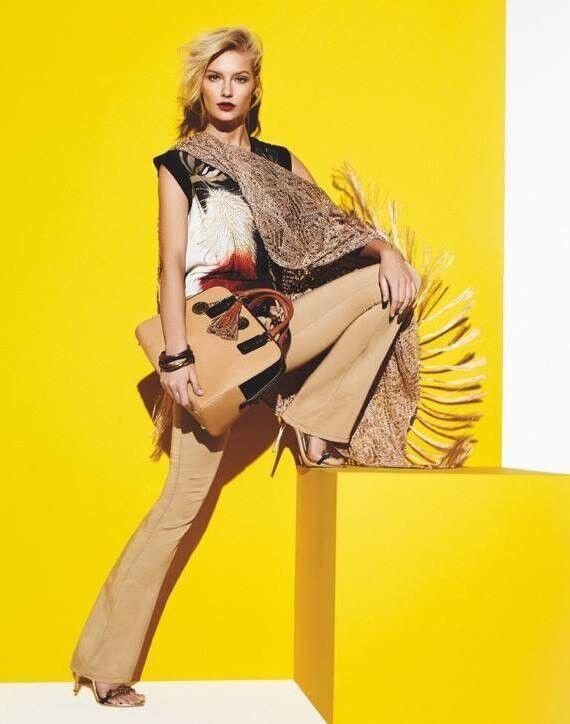 Кофта, блузка, футболка женская CRISTINAEFFE Топ Feather 7P5-5668 - фото 1