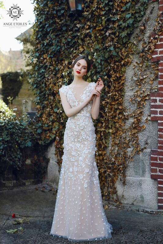 Свадебный салон Ange Etoiles Свадебное платье AEriality Collection Velari - фото 3
