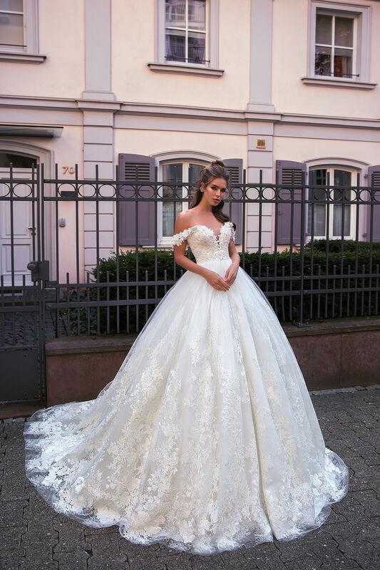 Свадебное платье напрокат Vanilla room Платье свадебное Виктория - фото 4